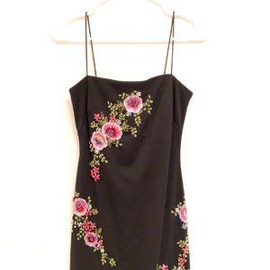 JS Boutique beaded evening dress